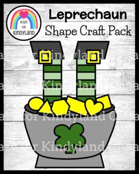 Saint Patrick's Day Craft: Leprechaun Gold Coin Shapes