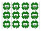 Saint Patrick's Day Sight Word Memory {High Frequency Word Game}