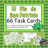 Saint Patrick's Day Spanish Vocabulary Task Cards