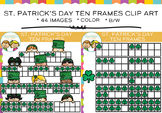 Ten Frames Saint Patrick's Day Clip Art