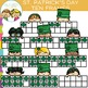 Ten Frames Saint Patrick's Day Clip Art