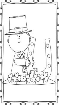 Saint Patrick's Day Themed Coloring Sheets