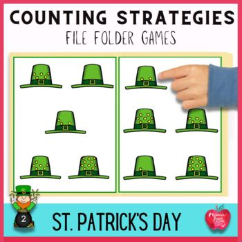 File Folder Games: Saint Patrick's Day Counting Activities
