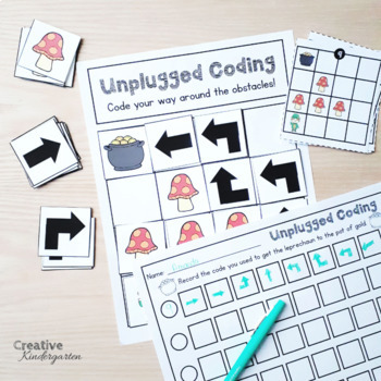 Saint-Patrick's Day Unplugged Coding Activity for Beginners