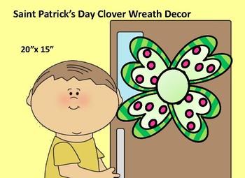 Saint Patrick's Day Wreath/Decor