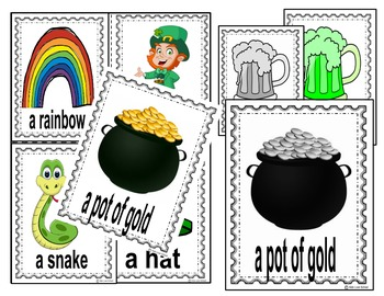 Saint-Patrick's Day-Write the Room ENGLISH!  Great for ESL too!