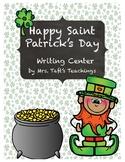 *Saint Patrick's Day Writing Center