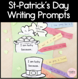 Saint-Patrick's Day Writing Prompt Craftivity for Kindergarten