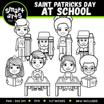 Saint Patrick's Day at School Clip Art
