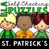 Saint Patrick's Day's Themed ELA Puzzles