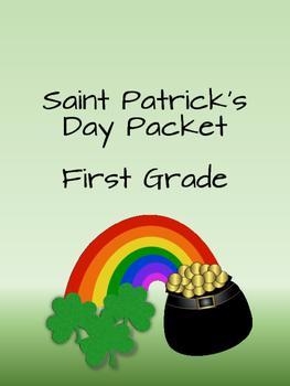 Saint Patrick's Freebie First Grade
