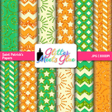 Saint Patrick's Day Paper | Scrapbook Backgrounds for Task