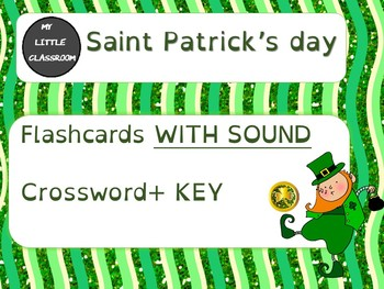 Saint Patrick's day flashcards