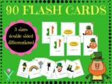 Saint Patrick's day flashcards in French