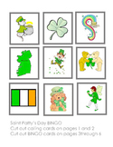 Saint Patricks Bingo 8 cards 13 logos