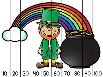 Saint Patrick's Counting Puzzles