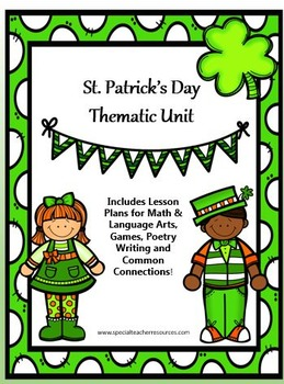 St Patrick's Day Thematic Unit