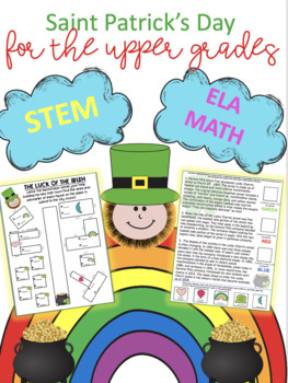 Saint Patricks Day- Engage the big kids!