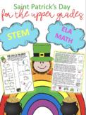 Saint Patricks Day- Engage the big kids!