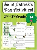 Saint Patrick's Day Activities, Writing. and Fun!
