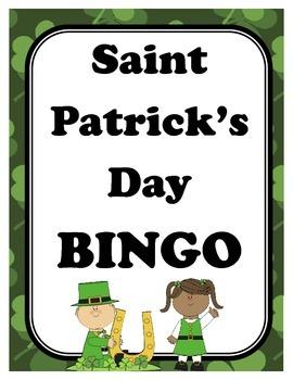 Saint Patrick's Day BINGO