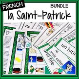 Saint Patrick's Day Bundle  – Un Paquet pour la Saint-Patrick  – Activities