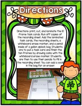 Saint Patrick's Day Center ~ Ways to 10
