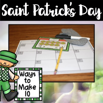 Saint Patrick's Day Center ~ Ways to 10