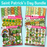 Saint Patricks Day Clip Art Bundle {Glitter Meets Glue}