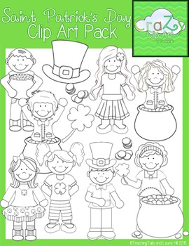 Saint Patrick's Day Clip Art Pack {CraZy Clip Art}