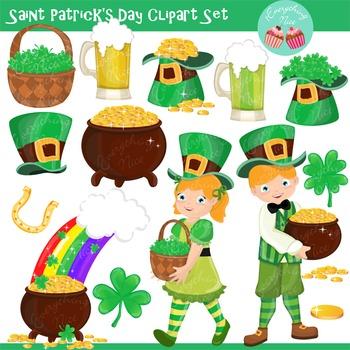Saint Patrick's Day Clip Art Set