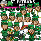 Saint Patricks Day Clipart {Leprechaun Clipart}