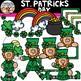 Saint Patricks Day Clipart {Leprechaun Clipart}