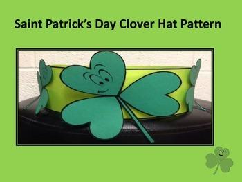 Saint Patrick's Day Clover Hat Pattern