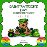Saint Patrick's Day - Complete the Measures