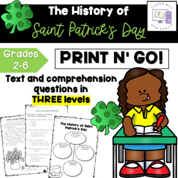 Saint Patrick's Day Comprehension (Differentiated)