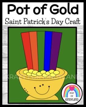 Saint Patrick's Day Craft: Pot of Gold