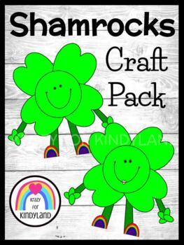 Saint Patrick's Day Craft: Shamrock Characters
