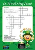 Saint Patrick's Day Crossword