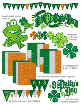 Saint Patrick's Day Design Bundle