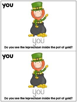 Kindergarten / First Grade - Saint Patrick's Day - Find the Leprechaun