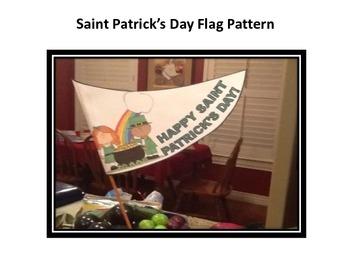 Saint Patrick's Day Flag Pattern
