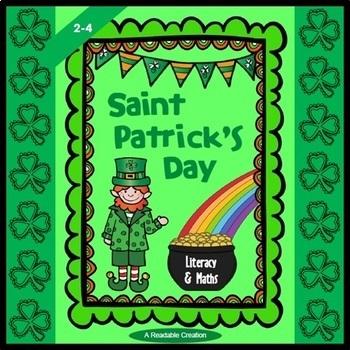 Saint Patrick's Day - Fun with Literacy & Maths {BrE Version}