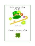 Saint Patrick's Day Genetics Leprechaun Activity: Flip a Coin for the Traits