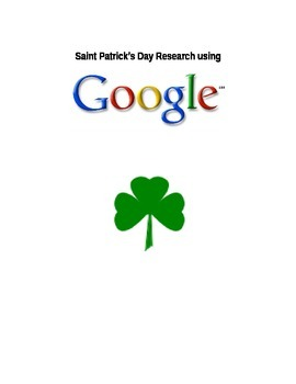 Saint Patricks Day Google Search Unit {autism, technology}