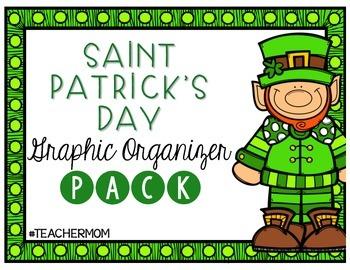 Saint Patrick's Day Graphic Organizer Pack