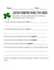 Saint Patrick's Day Graphing, Sorting & Reading Data with Lucky Charms