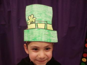 Saint Patricks Day Hat pattern1