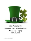 Saint Patricks Day - History Facts Article Questions Vocab Around the World