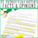 Saint Patrick's Day History Literacy Center